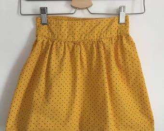 Gap mustard yellow dress