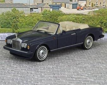 Franklin Mint 1992 Rolls-Royce Corniche 1:24 Diecast very good condition boxed
