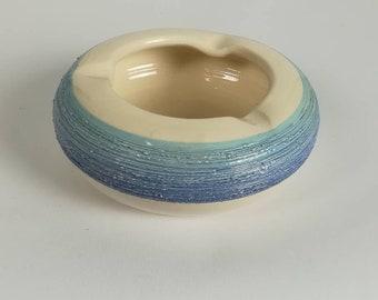 Handmade ceramic ashtray With love