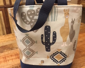 Mini tote/Project Bag