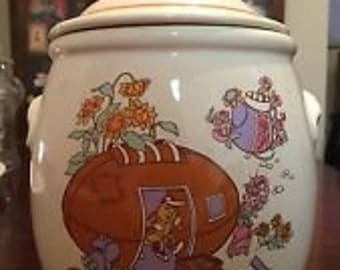 Rose Petal Place Cookie Jar 1983