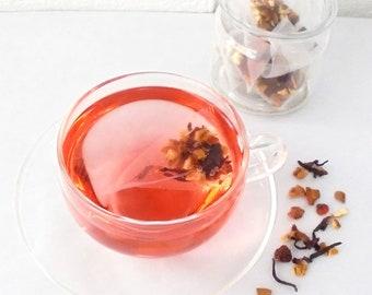 Hibiscus/Cinnamon (teabags)-Herbal tea blend