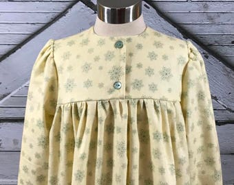 Size 7 & 10--Girl's Cotton Flannel Gown