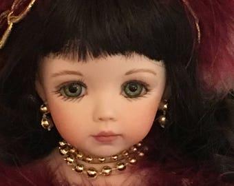 Victorian Porcelain Doll Ornaments