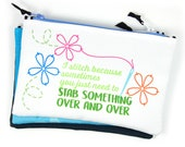 Notions Bag, Embroidery, Sewing, Stitcher