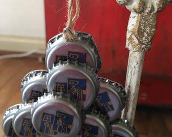 Craft Beer cap ornament