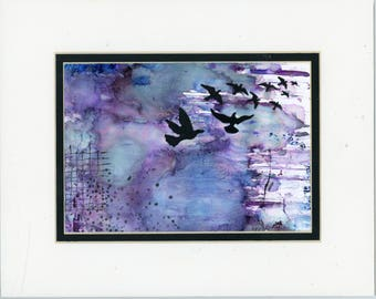Alcohol Ink Art, Ink Painting, Abstract