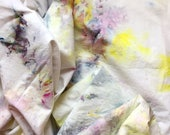 Pink Lemonade Hand Dyed Duvet Cover and Pillowcase, Tie Dye Sheets, Anna Joyce, Portland, OR