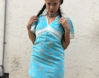 Reclaimed 70s Vintage virgin suicides dress
