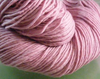 SALE... Was 8.50... Now 6.00...FIRST BLUSH...handspun, handpainted wool yarn...4oz...187yd