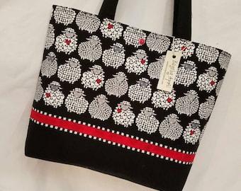 Funky Sheep purse tote handbag Bags by April