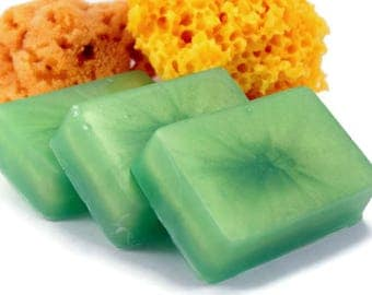 Bamboo Lotus Soap, Handmade Glycerin Soap Bar