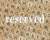 RESERVED Lot of 25 Vintage Scrabble Tile Holders, Wooden Scrabble Trays, Craft Supplies, Vintage Game Pieces, Scrabble Tile Racks