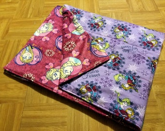 Custom Weighted Blanket - Frozen - Size SMALL - You choose weight.
