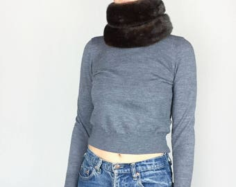 Long Fur Scarf