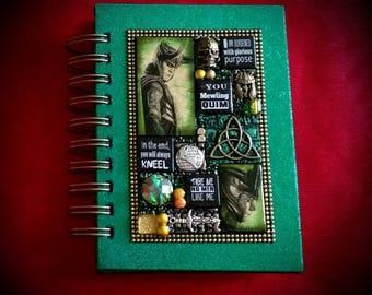Loki A6 journal. Tom Hiddleston. Avengers. Asguard. Thor