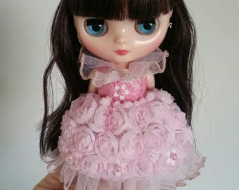 PREORDER Flower Empress dress for Middie Blythe, Lati Yellow