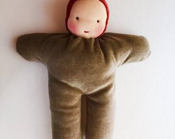 Waldorf dolls, 12 inch doll,  Elf doll, waldorf toy, soft doll