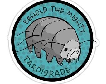 Tardigrade - vinyl sticker