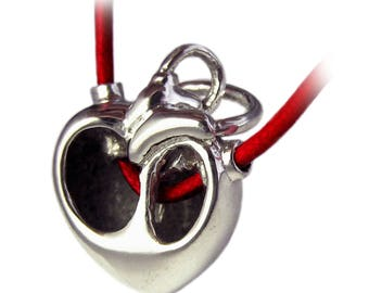 Core - SALE Anatomical Correct Heart necklace Gift for nurse Surgery Medical Doctor Lolita dexter Goth Victorian Nerd Jewelry Gift For Her42