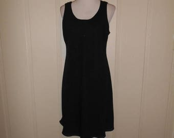 Closing shop SALE 40% off Vintage 90's  black dress      Size 12                    90s dresses   Large