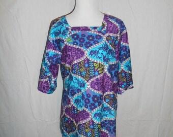 Closing Shop 40%off SALE Cotton apron dress     hippie hippy  60s 70s mod