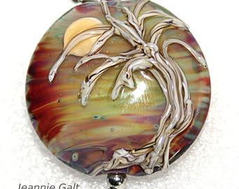 Lampwork  Art Jewelry by Jeanniesbeads #2174