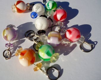 Lost My Marbles Stitch Markers