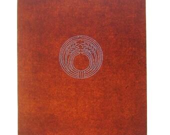 Vintage Japanese Stencil - Vintage Stencil - Family Crest Stencil - Kamon Stencil (46) - Harvest - Crop