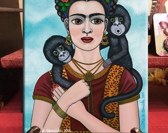 Frida Art Frida Kahlo Art Retablo