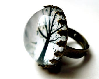 Ring, the little tree of hearts BA112