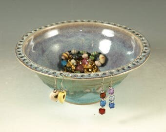 Earring bowl apx 50 holes