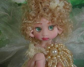 Fairy Fairies Fae pixie elf OOAK Fantasy Art Doll By Lori Schroeder 11K