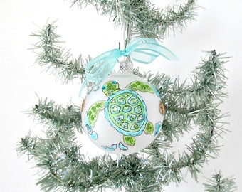 Turtle ornament | Etsy