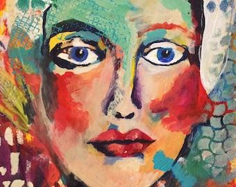 Georgette Art Print
