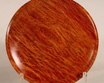 Australian Lacey Sheoak Ring Dish turned wood bowl number 6641 by Bryan Tyler Nelson