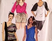 Easy to Make Misses Top Sewing Pattern McCall's 9185 Bust 38-48 inches Uncut and Complete Plus Size