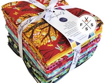 Tula Pink Fabric, Fat Quarter Bundle, 20 Piece, Throwback 2017, Precut Quilting Cotton, Free Spirit, FB1FQTP.TBT17
