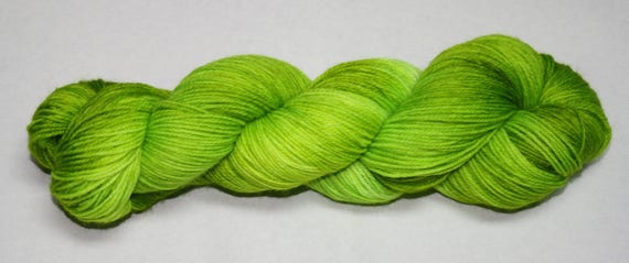 Ready to Ship - Ghoul Hand Dyed Sock Yarn - Sparkle Singles