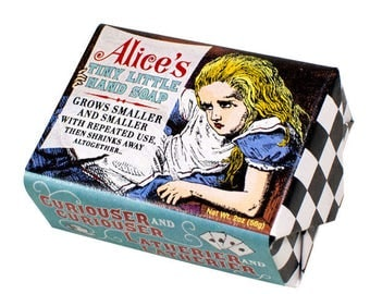 Alice in Wonderland Soap  Bar