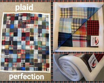 Plaid Perfection Baby Quilt