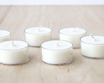 CITRUS + BASIL tea lights : SALE