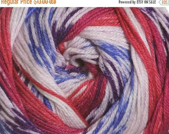 ON SALE Jewels Cascade Heritage Prints Yarn 437 yards Super Fine Wool Nylon Sock Yarn Color 29