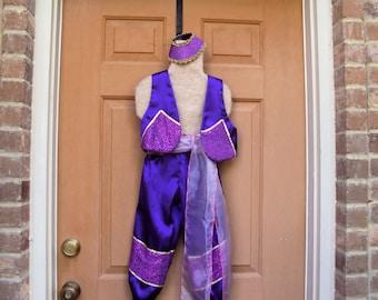 Shimmer Costume, purple genie costume, Aladdin costume, girls sizes
