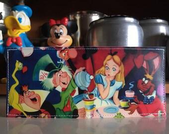 Alice In Wonderland Disneyland Map Wallet