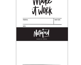 Make It Work - 50 sheets