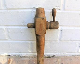 Antique Wooden Barrel Tap Vintage Barrel Tap Keg Handle