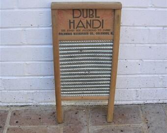 Antique Vintage Washboard Vintage Dubl Handi Washboard Vintage Columbus Washboard Company