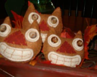 Halloween Cat Bowl Fillers Ornies OFG AB4B