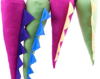 Pink or Green Dinosaur Tail Costume for Toddlers and Children, Toddler Gift, Kid Costume, Child Birthday Gift, Boy Gift, Imaginative Gifts